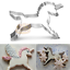 4x Plaque Frame Border Cookie Cutter Fondant Cake Biscuit Dough Pastry Mold Tool
