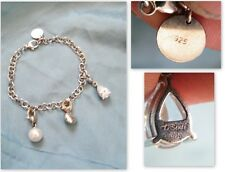Magnifique Bracelet TI SENTO Charming Argent/sterling 925 with charms,n°627.