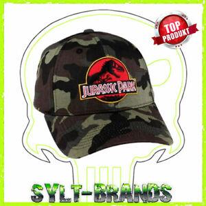 JURASSIC-PARK-BASEBALLCAP-KAPPE-CAP-SNAPBACK-HAT-JURASSIC-PARK-CAPS-KAPPEN-HATS