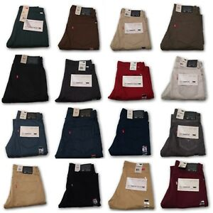 NEW-MENS-LEVIS-511-SLIM-FIT-ZIPPER-FLY-COMMUTER-JEANS-TROUSERS-PANTS-MANY-COLORS