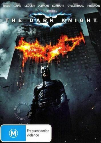 DVD - Dark Knight (2008) - PAL R4