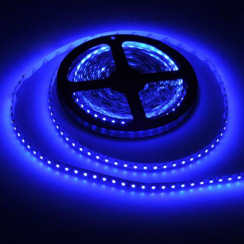 2X 3528 5M 600 LED NO-WATERPROOF SMD FLEXIBLE LIGHT LAMP STRIP DC 12V DIY BLUE