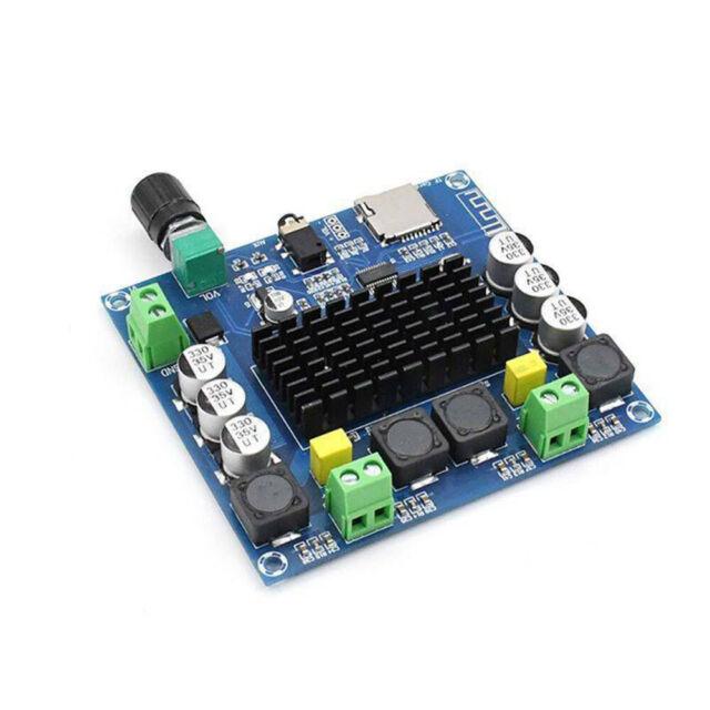 XH-A105 Bluetooth 5.0 TDA7498 digital amplifier board 2x100W Stereo Audio x