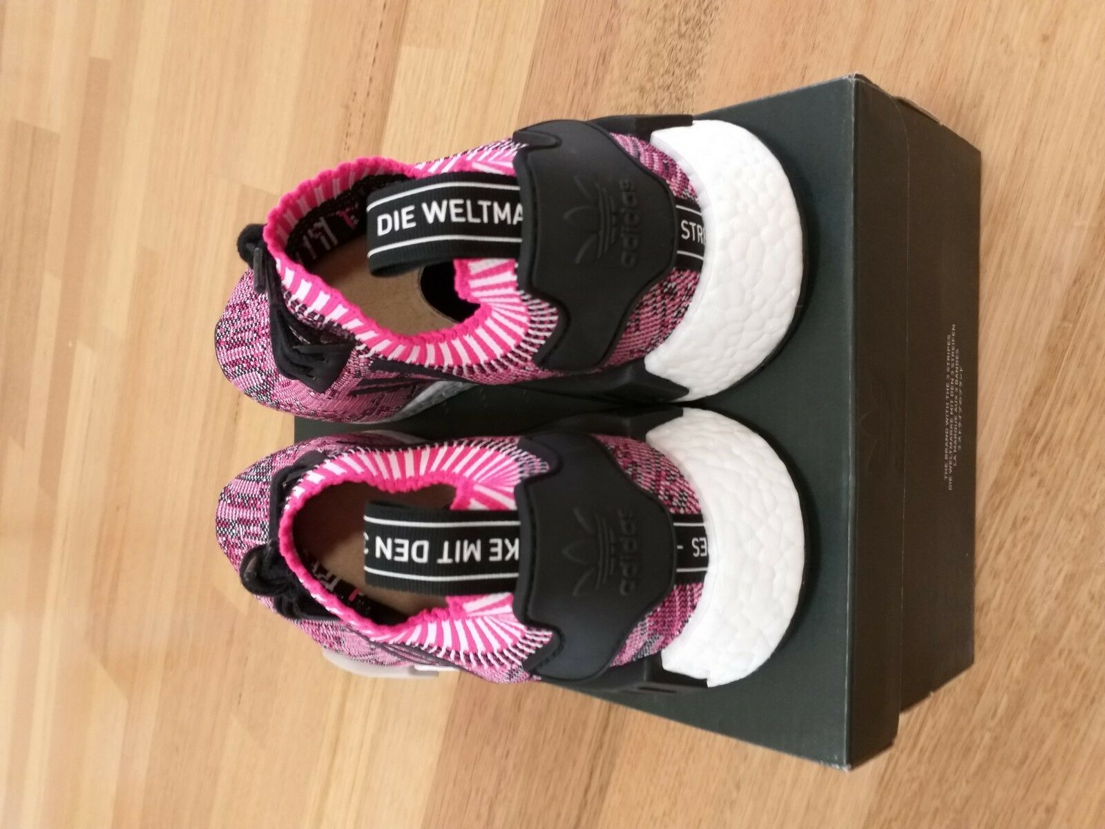 Adidas NMD R1 PK pink size 9 W DS prime knit sneaker