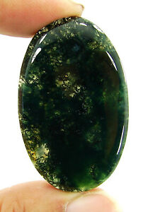 Moss Agate Stone Pear Cabochon,Moos Agate Gemstone Smooth Hand Polished Crystal,For Making Wire Wrap jewelry 29x18x5 MM