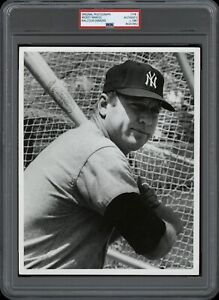 Mickey-Mantle-1967-Yankees-Malcolm-Emmons-Type-1-Original-Photo-PSA-DNA-RARE