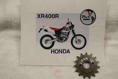 Honda XR400R15T MAXIMUM SPLINE CONTACT DOUBLE LIFE FRONT SPROCKET
