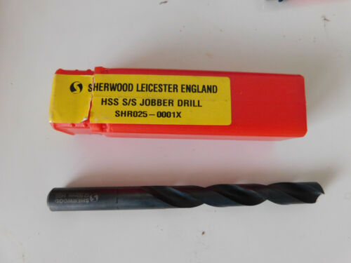 12.5mm Sherwood HSS Jobber Drill Sold Individually