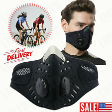 Cycling Half Face Mask Neoprene Anti-Dust Filter Motor MTB Bike Outdoor Sports