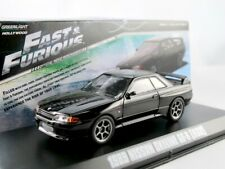 2-car set Chevrolet Chevelle SS y Nissan Skyline GT-R casi and Furious 1:43 talla