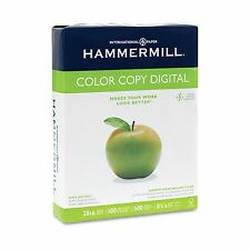 Hammermill Copier Paper,100 Brightness, 28lb, 8 1/2 x 11, Photo White - 500/Ream