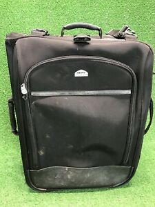 Boyt Large Ballistic Nylon Garment Bag Black Suit Travel Folding Luggage Rolling