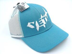 32a751475517f Brand New YETI Coolers Tarpon Trucker Snapback Hat Cap One Size Teal ...