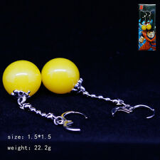 Anime DragonBall Z Vegeta Potara Earring Cosplay Pendant Earbob Mother's Gift