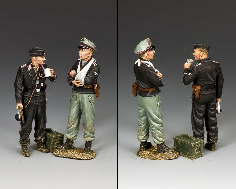 KING AND COUNTRY Dismounted Tank Crew WW2 German WS346