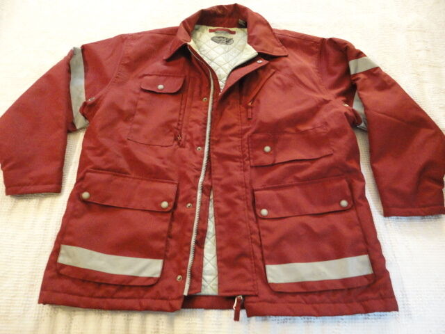 AEO American Eagle Outfitters Firefighter First Responder Style Coat Large NC7