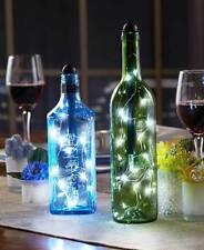 2 Pack Fortune Light My Bottle Wine Bottle String Lights LED Fairy Lights Indoor