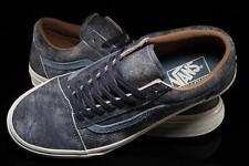 VANS Old Skool Reissue Varsity Blue Suede Mens Skate Shoes Size 13 6jyh