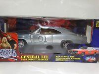 Joyride General Lee 1969 Dodge Charger Dukes Of Hazzard 1:18 Diecast Chrome Car