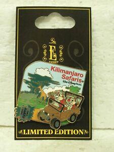 Pin-74098-WDW-WDW-E-Ticket-Attractions-Kilimanjaro-Safaris-Chip-amp-Dale-LN