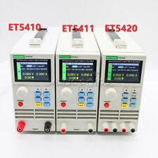Single Dual Channel Programmable Dc Electronic Load Et54 Et5410 Et5411 Et5420