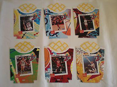 Super Size Fry Boxes MINT Flintstones//McDonalds Complete Set of 4
