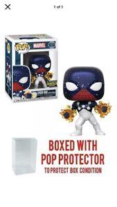 Exclusive-Funko-Pop-Marvel-Spider-Man-Captain-Universe-Vinyl-Figure-w-Protector
