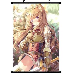 Anime-Tate-no-Yuusha-no-nariagari-raphtalia-Pared-Poster-de-desplazamiento-de-Regalo-Decoracion