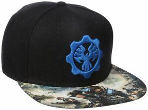 Adults Gears Of War Hat//Cap Snapback Brand New