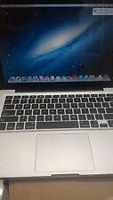 "Apple MacBook Pro A1278 13.3"" Laptop - MD101LL/A (June, 2012)  500GB HD 4GB RAM"