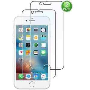 Film Protection d'écran (Lot de 2) en vitre verre trempé pour iPhone 6 et iPhon