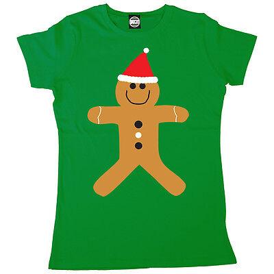 BATCH1 GINGERBREAD MEN CHRISTMAS NOVELTY ALL OVER PRINT UNISEX XMAS T-SHIRT