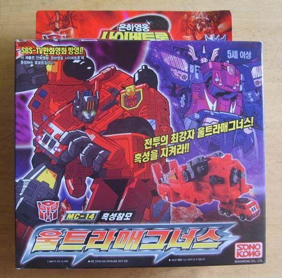 TAKARA Transformers Armada MC-14 Overload NEW