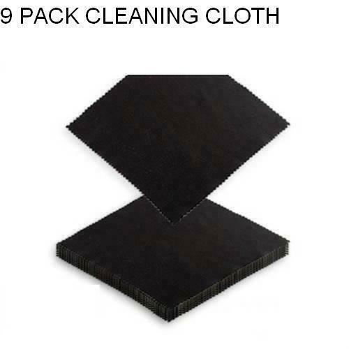 9 X Microfiber Cleaning Cloth Smart Phone Camera Lens Screen Glasses Monitor