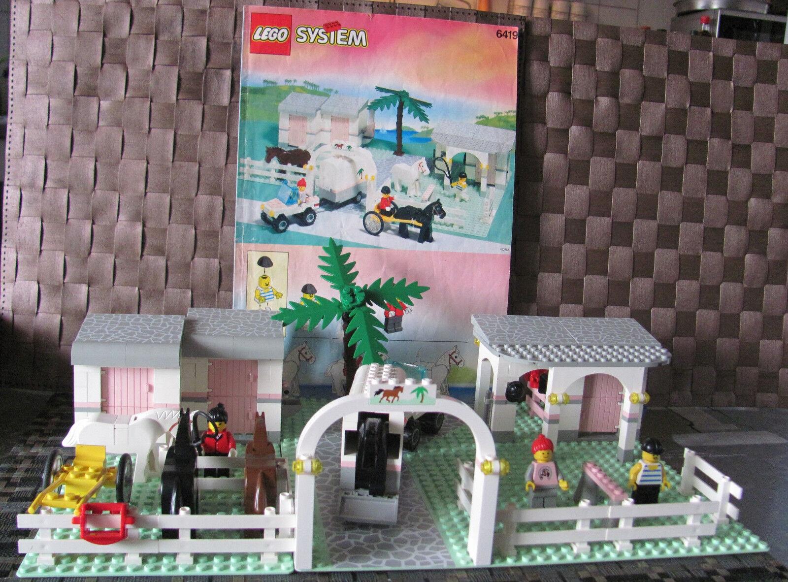 LEGO System Paradisa équestre Rolling acres Ranch 6419 U. de recette