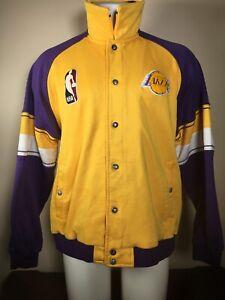 Rare Los Angeles Lakers Vintage Reebok Hardwood Classics Warmup Jacket Xl 2xl Ebay