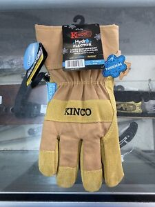 Kinco 1958-XL Men/'s Lined Waterproof Suede Pigskin Gloves X-Large