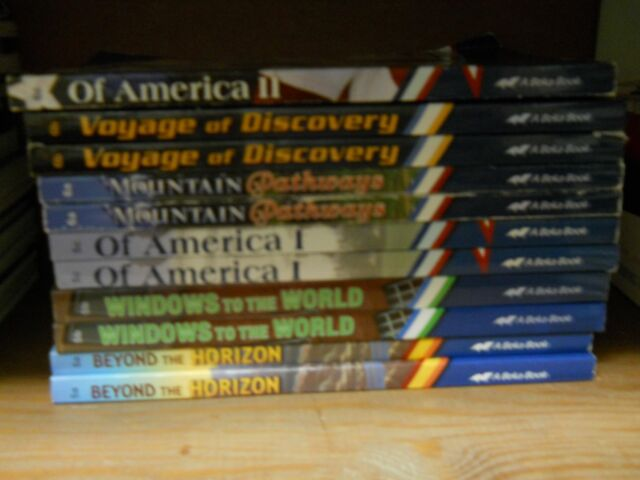 """""""BUILD YOU OWN"""" BOOK LOT current ABEKA READERS-ONLY $7.49 EACH+SHIP DISC. ON 2+"""