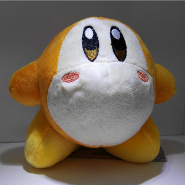 "REAL  New 1686 Little Buddy   Kirby 25th Anniversary Waddle Dee 5/"" Stuffed Plush"