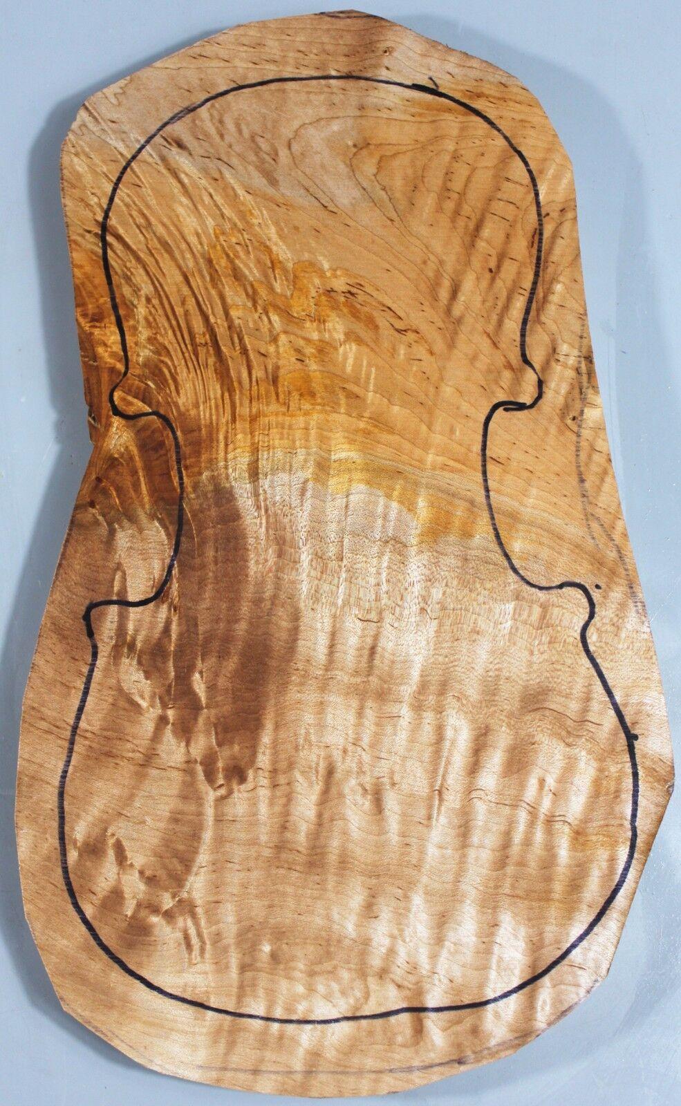 Ripple maple 4/4 Violin Top Instrument Music Supply 3511