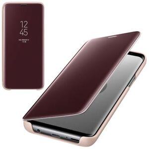 CUSTODIA-Samsung-s9-CLEAR-view-Cover-Guscio-EF-ZG960CFEGWW-per-Galaxy-s9-GOLD