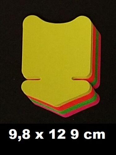 40 Pfeile 6 Größen Preisschild Karton Werbesymbol für Räumungsverkauf Angebot