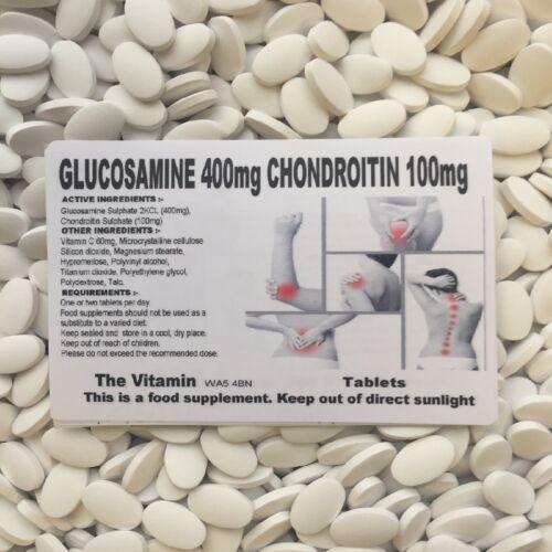 Die Vitamin Glukosamin 400MG Chondroitin 100MG 180 Tabletten IN Einer Tüte