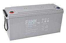 Batteria FIAMM AGM 12FGL150  150Ah 12V Per pannelli solari fotovoltaici