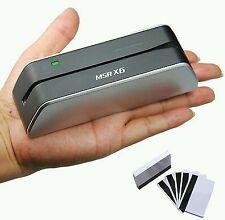 MSR X6 MSR09 MSRx6 Smallest Magnetic Reader Writer MSR206/605/606 USB-Powered