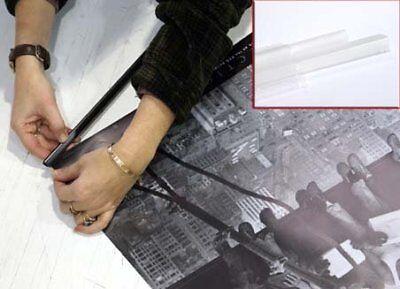 New Transparent 62cm Poster Hanger Strips Vendita Calda 50-70% Di Sconto
