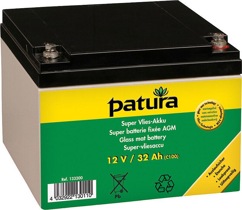 Patura super-toile-Batterie pour 9 volts Akkugeräte 32 Ah enclos Batterie enclos