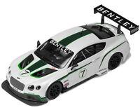 Scalextric Bentley Continental Gt3 7 Presentation Slot Car 1/32 C3514 Scx
