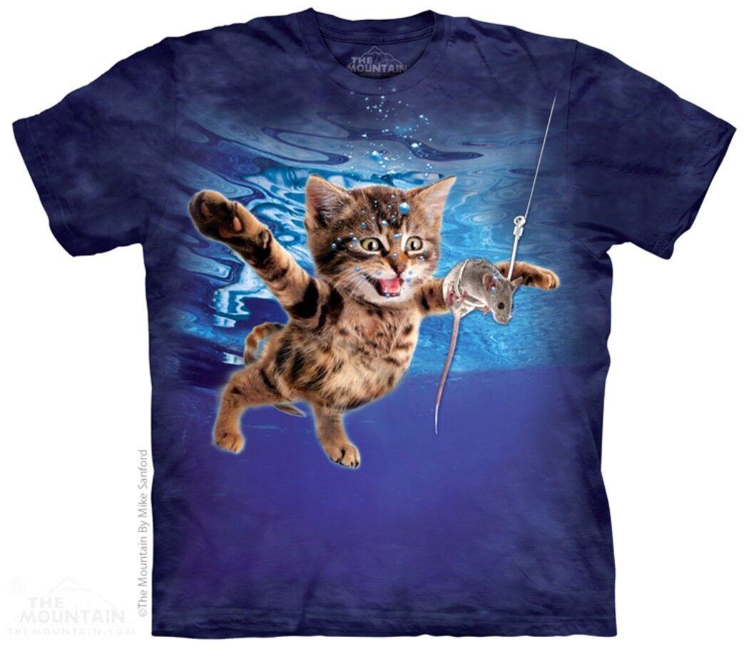 The Mountain Nevermice T Shirt Katze Cat Mieze Maus Tee