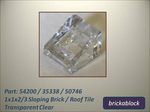 35338 Choose 5-50 NEW Lego Part 54200 50746 1x1x2/3 Sloped Brick/Roof Tile